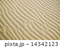 The texture of the sand dunes. 14342123