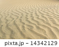 The texture of the sand dunes. 14342129