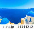 in Oia at Santorini island in Greece 14344212