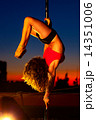 Young pole dance woman 14351006