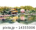 世界遺産金閣寺, 京都春の観光 14355006