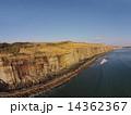 断崖 屏風ヶ浦 海の写真 14362367