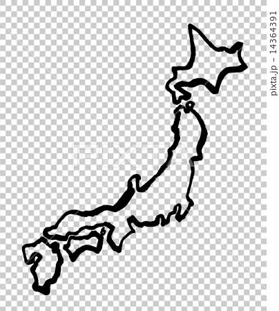 Vector Vectors Map Of Japan Stock Illustration PIXTA - Japan map png