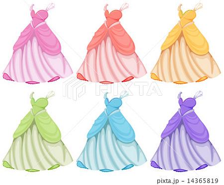 Dressesのイラスト素材 14365819 Pixta