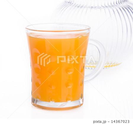 orange juice on a backgroundの写真素材 [14367023] - PIXTA