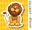 ライオン ドローイング 絵のイラスト 14367763