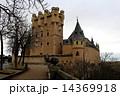 世界遺産セゴビアのアルカサル スペイン 14369918