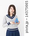 アルファベット A 女性の写真 14375665