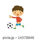 サッカー スポーツ 男の子 14378846