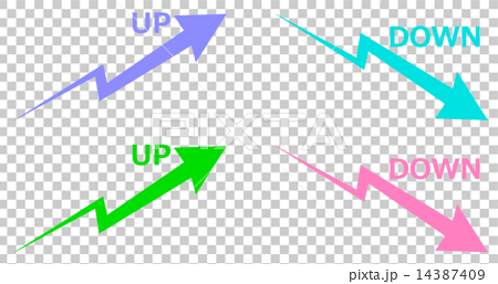 UP and DOWN arrows 14387409