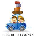 ファミリー 家庭 家族のイラスト 14390737