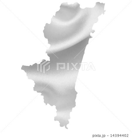 宮崎 地図 シルク 14394402