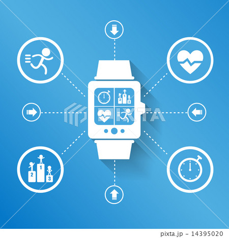 Smart watch for Health 14395020