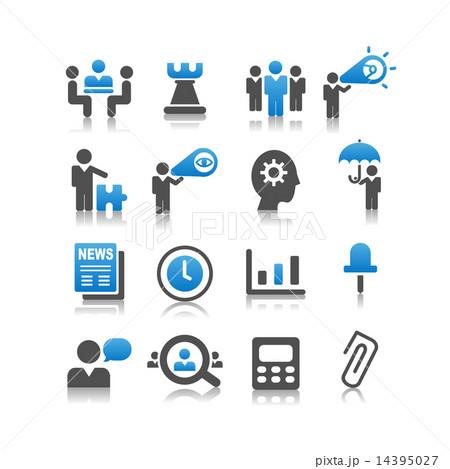 Business concept icon set 14395027