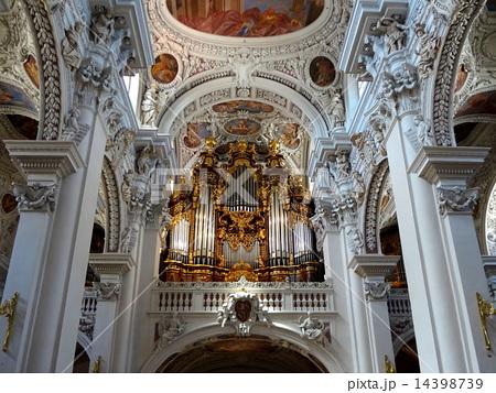 聖シュテファン大聖堂のパイプオルガン バイエルン州パッサウ Passau 14398739