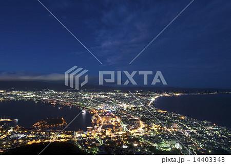 函館の夜景 14403343