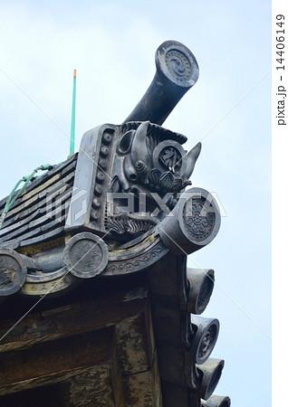 鬼瓦(三十三間堂(蓮華王院)/京都市東山区三十三間堂廻町) 14406149