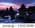 橋杭岩 奇岩 海岸の写真 14423686