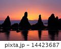 奇岩 橋杭岩 海の写真 14423687