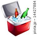 ジュース クーラー 飲み物のイラスト 14427884