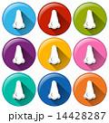 アイコン 色彩豊か はなのイラスト 14428287