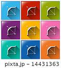 アイコン 色彩豊か カラフルのイラスト 14431363
