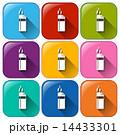 ライター アイコン 色彩豊かのイラスト 14433301