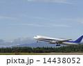 B767 秋田空港 離陸の写真 14438052