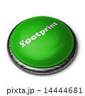 footprint word on green button isolated on white 14444681