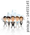 男女 ベクター グループのイラスト 14455145
