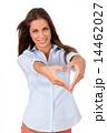 ハート ハートマーク 心臓の写真 14462027