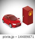 ベクター ガソリン車 補給のイラスト 14489871