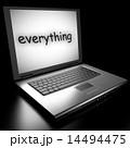 ワード 全部 PCのイラスト 14494475