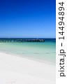 桟橋 セルヴァンテス 砂浜の写真 14494894