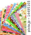 折り紙 千代紙 和柄の写真 14495103
