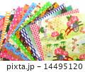 折り紙 和紙 千代紙の写真 14495120