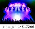 コンサート ステージ 照明のイラスト 14517206
