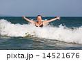 海 ウェイブ 波の写真 14521676