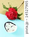 おかめ お多福 花の写真 14527905
