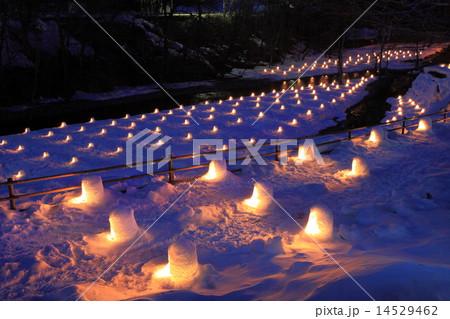 湯西川温泉 かまくら祭 14529462
