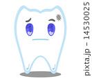 虫歯 歯 キャラクターのイラスト 14530025