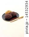 粒餡 牡丹餅 きな粉餅の写真 14532934