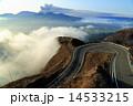 阿蘇五岳 噴煙 ラピュタ道の写真 14533215