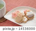 さるクッキー(フェイク)とお茶 14536000