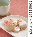 さるクッキー(フェイク)とお茶 14536001