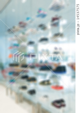 Abstract blur of Clothing store 14537575