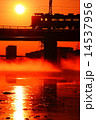 朝日 中央線 川の写真 14537956