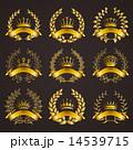 飾り 装飾 クラウンのイラスト 14539715