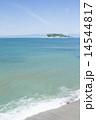 七里ケ浜と江ノ島 14544817