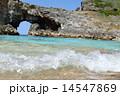 扇池 世界自然遺産 南島の写真 14547869